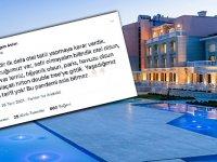 Alaçatı Hilton'da Bayram Rezaleti