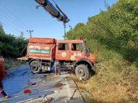 Akseki'de çıkan orman yangınında bir kişi hayatını kaybetti