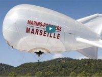 Fransa orman yangını söndürmede robotik balon kullanıyor