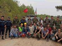 Azerbaycan'dan yangınlara karşı ekip desteği sürüyor