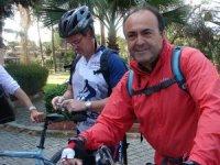 Yangında can veren bisikletçi Fahri Yiğit Okur toprağa verildi