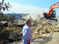 Manavgat'ta yangında 7 köyde yanan 246 222'sinin yıkımı yapıldı