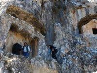 MÖ. 4'üncü yüzyılın gizemli kenti 'Thera' gün yüzüne çıkıyor