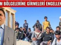 EDEP:' Suriyeli ve Afganlılarturizm yörelerine yerleşmesin!