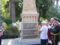 256 Bodrumlu şehidin isminin yer aldığı anıt törenle açıldı