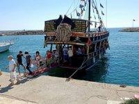 AvrupalıAraplar Manavgat'tatekne turcularının yüzünü güldürdü