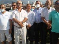 Fethiye sahil bandı esnafları birlik oldu