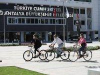 Antalya'da Avrupa Hareketlilik Haftası pedal çevirerek başladı