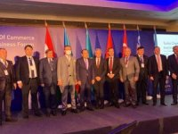 MATSOMacaristan İş Forumu'nda Manavgat'ın turizmini anlattı