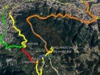 Bursa'da Uludağ yolu 1 ay trafiğe kapalı olacak
