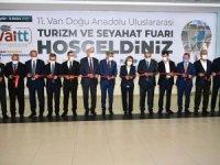 Doğu Anadolu Uluslararası Turizm ve Seyahat Fuarı Açıldı