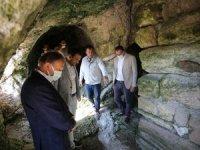 """Miletos Antik Kenti'ndeki """"Kutsal Mağara"""" ziyarete açıldı"""