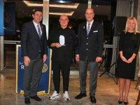 Mövenpick Hotel Bursa'nın şefi Vittorio Sindoni'ye Hizmet Ödülü