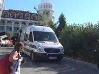 Antalya'da 5 yıldızlı otelin saunasında yangın