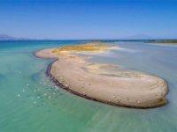 Van Gölü'nde su seviyesi giderek azalıyor