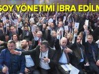 Türsab'ta Başaran Ulusoy yönetimi ibra edilmedi