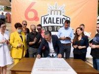 21 ülkeden 36 belediye başkanı kültürel mirasiçinimza attı