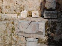Side Müzesi'nde Roma Güneş saati 2 bin yıldır zamanı gösteriyor