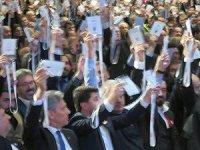 İbra'ya konuk kartıyla katılanlar 'oy kullandı' iddiası