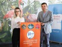 Alanya'da 152 işletme hijyen Turuncu Bayrak ödülü aldı