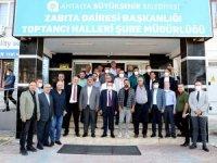 Başkan Böcek:Antalya örtü altı tarımla Türkiye'yi besleyen şehir