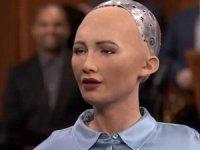 Robot Sophia nihayet Türkiye'de