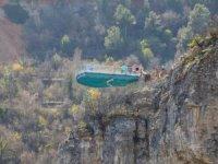 Safranbolu İncekaya Kanyonu'ndacam teras