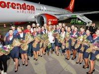 Corendon Airlines'ın ilk Boeing 737 MAX 8'i Antalya'da