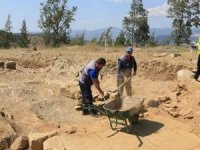 Milas'ta keşfedilen elips şekilli yapı