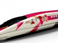 Hello Kity treni bu yaz Japonya'da hizmete giriyor