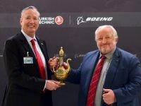 Boeing ve THYuçak bakım(MRO) ortaklığı imzalandı