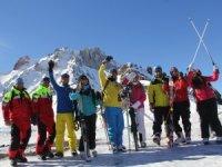 Kayseri'ye, 2019 kayak sezonu rezervasyonu başladı