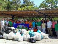Hapimag Sea Garden ekibi çevre temizliği yaptı