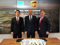 UPS'den, İstanbul Yeni Havalimanı'na yatırım