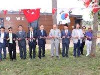 Dünya Tuvalet Birliğinin hibe ettiği tuvalet açıldı