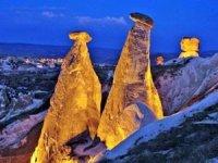 Kapadokya'da Üç Güzeller'e 3 milyon turist