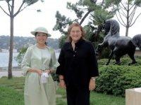 Güler Sabancı, Japonya Prensesini ağırladı