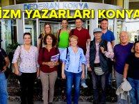 TÜRİDER turizm yazarlarına Konya'yı tanıtıyor