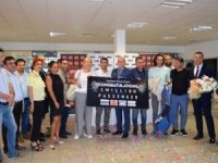 Gazipaşa-Alanya'da 1 milyonuncu yolcu
