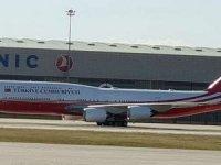 Katar Emiri'nin hediyesi uçak, hangardan çıktı