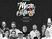 Ünlü master şefler''Meze Festivali''ne katılacak
