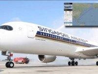 En uzun uçuşta Singapur'un A350'si Newark'a indi