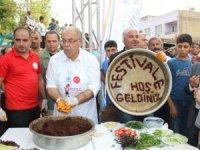 Adıyaman'da Çiğ Köfte Festivali yapıldı