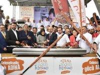 2. Adana Lezzet Festivali  yürüyüş ile başladı
