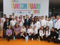 Bursa Turizm Fuarı'nda Genç Aşçılara ödüller verildi