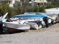 Mültecilere mezar olan tekneler hurdaya ayrılıyor