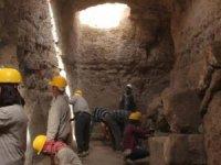 Zerzevan Kalesiyeraltı sığınağında kazılar tamamlandı