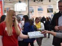 Danimarka turizm fuarında THY baklavaları kapışıldı
