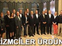 Türk turizmciler Ürdün'de