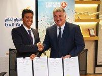 THY ve Gulf Air'in ortak uçuşu